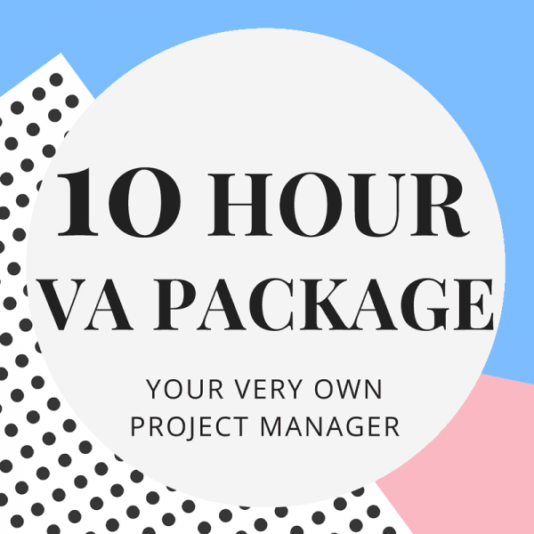 10-Hour Virtual Assistant Package