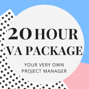 20-Hour Virtual Assistant Package